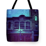 City Street At Night Tote Bag
