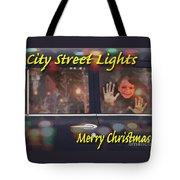 City Street Lights Tote Bag