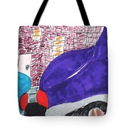 City Curb Street Parking Tote Bag