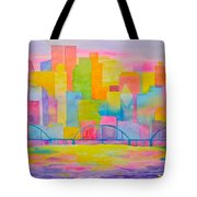 City To Dye For Tote Bag