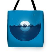 City Tunes Tote Bag
