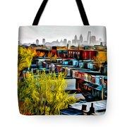 City View Five Tote Bag