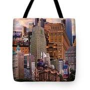 Cityscape Dream Tote Bag