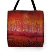 Cityscape Gold Coast Tote Bag