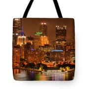 Cityscape Of Color Tote Bag