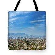Cityscape Of Tuxtla Chiapas Tote Bag