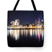 Cityscape - Philadelphia Tote Bag