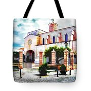 Ciutadella Church Tote Bag
