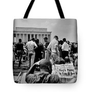 Civil Rights Occupiers Tote Bag
