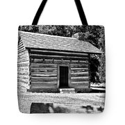 Civil War Cabin Tote Bag