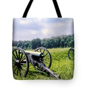 Civil War Cannons Tote Bag