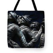 Civil War Figures Tote Bag