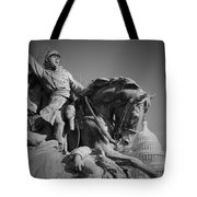 Civil War In Washington Tote Bag