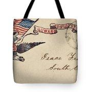 Civil War Letter 18 Tote Bag