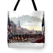 Civil War Philadelphia Zouave Corps Tote Bag