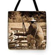 Civil War Soldier  Tote Bag