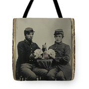 Civil War Soldiers C1863 Tote Bag
