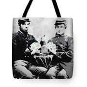 Civil War Whiskey And Cards  C. 1863 Tote Bag