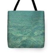 Clear Water Of Guam Tote Bag