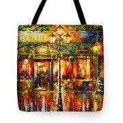 Clarens Misty Cafe Tote Bag