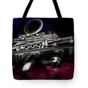 Clarinet Still Life Tote Bag by Tom Mc Nemar