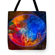 Clarity In The Midst Of Confusion Abstract Healing Art Tote Bag