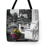 Clark House Flowers 2 Tote Bag