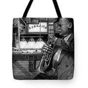 Jazz Clark Terry Tote Bag