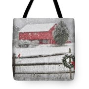 Clarks Valley Christmas 2 Tote Bag