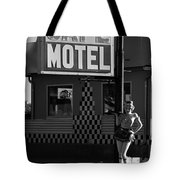 Classic 50s Motel Cafe Tote Bag