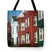 Classic American Architecture In Washington Dc Tote Bag