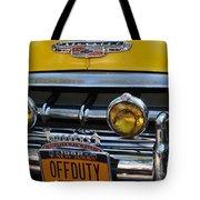 Classic New York City Cab - Detail Tote Bag