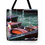 Classic Boats In Lake Tahoe Tote Bag