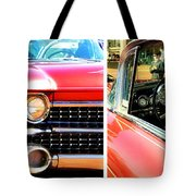 Classic Caddy Inside And Out Tote Bag