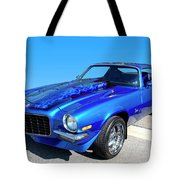 Classic Car 1973 Camaro 1 Tote Bag