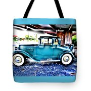 Classic Car 2 Tote Bag