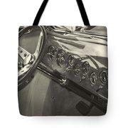 Classic Car Interior Tote Bag