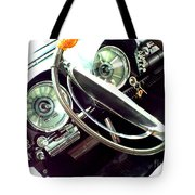 Classic Car Odometer Tote Bag