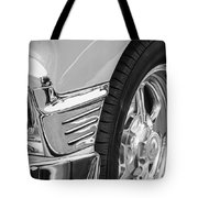 Classic Car Reflections - Training Wheels -179bw Tote Bag