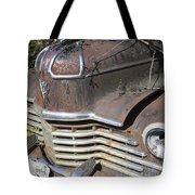Classic Car With Rust Tote Bag