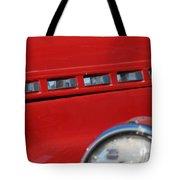 Classic Chevy Design Tote Bag