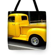 Classic Chevy Truck Tote Bag