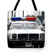 Classic Cop Car Tote Bag