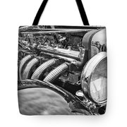 Classic Engine - Classic Cars At The Concours D Elegance. Tote Bag