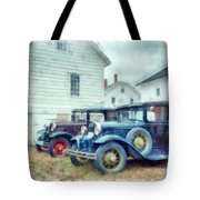 Classic Ford Model A Cars Tote Bag