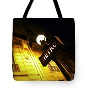 Classic French Metro Light Tote Bag