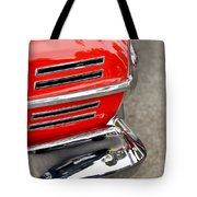 Classic Impala In Red Tote Bag