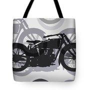 Classic Motorcycle  Tote Bag by Daniel Hagerman