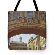 Classic Oxford Textured Tote Bag