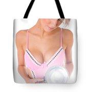 Classic Pinup Girl Tote Bag